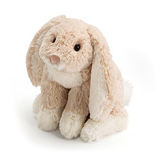 Achat Peluche Peluche Loppy Oatmeal Bunny - 13 x 25 cm