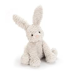 Achat Peluche Peluche Fuddlewuddle Grey Bunny - 23 cm