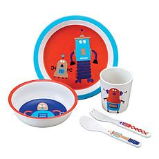 Achat Coffret repas Coffret Cadeau 5 Pièces Scintillant Les Robots
