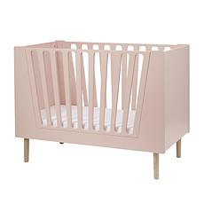 Achat Lit bébé Lit Bébé Évolutif - 60 x 120 cm - Rose