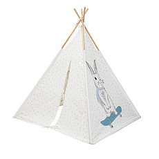 "Achat Tipi Tipi Enfant ""Playing Animals"" - Bleu"