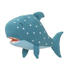 Achat Peluche Requin Tricot - 37 cm