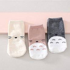 Achat Chaussons & Chaussettes Chaussettes Totoro (Lot de 3) - Gris / Beige / Rose