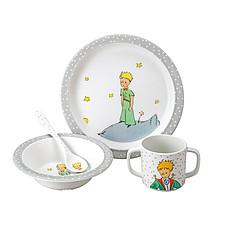 """Achat Coffret repas Coffret Cadeau 4 Pièces """"Le Petit Prince"""" - Gris"""