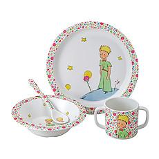 """Achat Coffret repas Coffret Cadeau 4 Pièces """"Le Petit Prince"""" - Rose"""