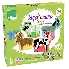 Achat Mes premiers jouets Rigol'animo Ferme par Ingela P. Arrhenius
