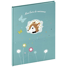 "Achat Album naissance Livre de Naissance ""Foxy"" A4 - Bleu"