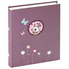"""Achat Album naissance Album Photo Enfant 60 Pages """"Foxy"""" - Violet"""