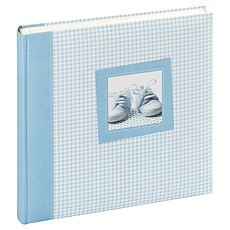 """Achat Album naissance Album Photo Traditionnel 60 Pages """"Tilou"""" - Bleu / Blanc"""
