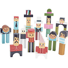 Achat Mes premiers jouets Les bonhommes cubes par Ingela P. Arrhenius