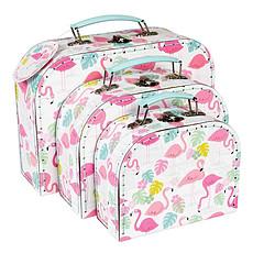 Achat Rangement jouet Set 3 valisettes Flamingo Bay