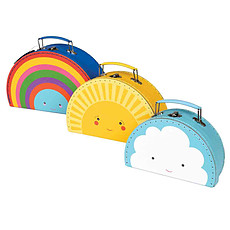 "Achat Bagagerie enfant Set 3 valisettes ""Weather Friends"""
