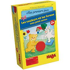 Achat Mes premiers jouets Mes Premiers Jeux - Les Couleurs et les Formes avec Petit Ourson