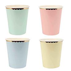 Achat Anniversaire & Fête Lot de 8 Gobelets Pastel