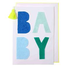 Achat Livre & Carte Carte Bébé - Bleu