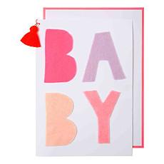 Achat Livre & Carte Carte Bébé - Rose