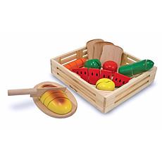 Achat Mes premiers jouets Aliments à couper en bois