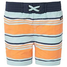 Achat Maillot de bain Short de Bain Stripe Fluor Orange ROB - 24 mois