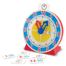 Achat Mes premiers jouets Horloge J'apprends à lire l'heure