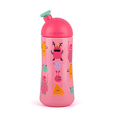 Achat Biberon Bouteille Sport - 270 ml Anti-fuites - +18 Mois - Rose