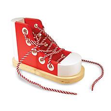 Achat Mes premiers jouets Chaussure à Lacer en Bois