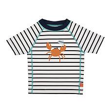 Achat Accessoires bébé T-Shirt de Bain Manches Courtes - Marin Bleu