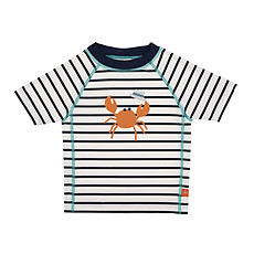 Achat Maillot de bain T-Shirt de Bain Manches Courtes - Marin Bleu