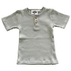 Achat Vêtement layette T-Shirt Manches Courtes Noe Bee - Green Cloud