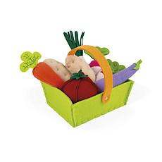 Achat Mes premiers jouets Panier de 8 Légumes en Tissu