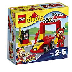 Achat Mes premiers jouets 10843 - LEGO® DUPLO® - La Voiture de Course de Mickey