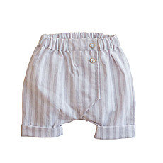 Achat Bas Bébé Suprematist Composition - Short Vladimir Grey Chalk