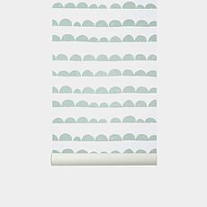 Achat Sticker Papier Peint Demi-Lune - Menthe