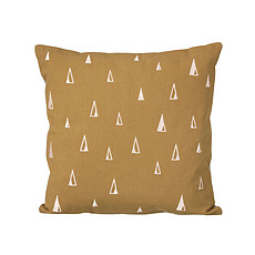 Achat Coussin Coussin Cônes - Curry