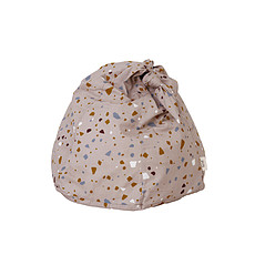 Achat Fauteuil Pouf Knot Terrazzo - Rose