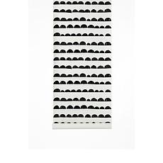 Achat Sticker Papier Peint Demi-Lune - Noir
