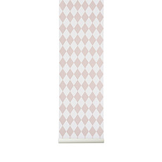 Achat Sticker Papier Peint Arlequin - Rose