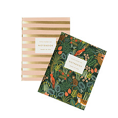 "Achat Livre & Carte Set de 2 Carnets ""Jungle"" - 10.5 x 14 cm"