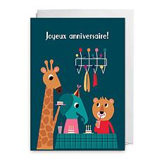 """Achat Anniversaire & Fête Carte """"Joyeux Anniversaire"""" par Ingela P. Arrhenius"""
