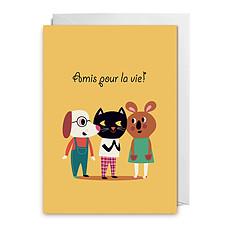 """Achat Livre & Carte Carte """"Amis pour la Vie"""" par Ingela P. Arrhenius"""