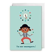 "Achat Livre & Carte Carte ""Tu me manques"" par Ingela P. Arrhenius"