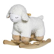 Achat Trotteur & Porteur Mouton à Bascule - Blanc