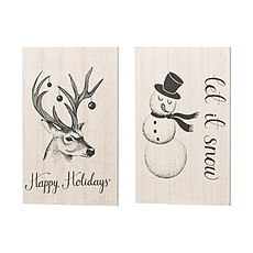 Achat Livre & Carte Lot de 2 Cartes de Noël - Nature