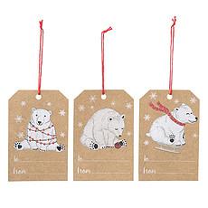 Achat Anniversaire & Fête Pack de 6 Étiquettes Cadeaux - Nature