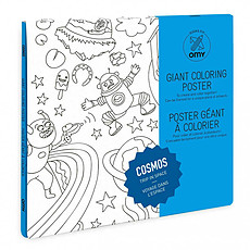 Achat Mes premiers jouets Poster à colorier - Cosmos