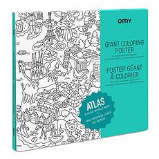 Achat Mes premiers jouets Poster à colorier - Atlas
