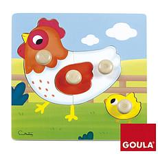 Achat Mes premiers jouets Puzzle Poule 22 x 22 cm