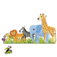 Achat Mes premiers jouets Puzzle XXL Jungle du plus petit au plus grand