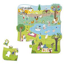 Achat Mes premiers jouets Puzzle XXL Une Journée à la Campagne