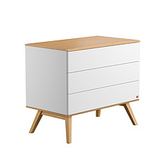 Achat Commode Commode Nature + plan à langer - Blanc