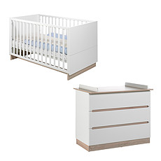 Achat Chambre complète Chambre Duo Lit & Commode - Collection United